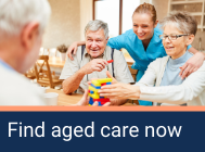 Get a customised list of aged care options
